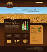 C & R Drinks Website